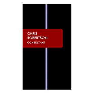 Black Blue Red Attractive Charming Business Card