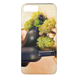 Black Bottles And Grapes iPhone 7 Plus Case