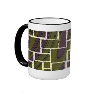 Black Boxes Ringer Mug
