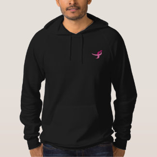 Black Breast Cancer Hoodie