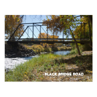 Black Bridge Road, Paonia, CO Postcard
