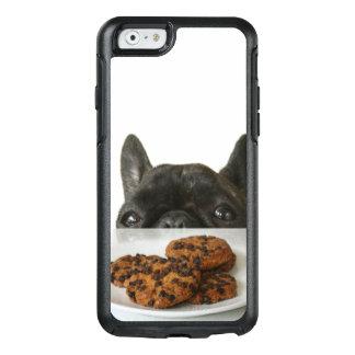 Black Brindle French Bulldog OtterBox iPhone 6/6s Case
