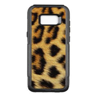 Black Brown Gold Leopard Animal Pattern OtterBox Commuter Samsung Galaxy S8+ Case