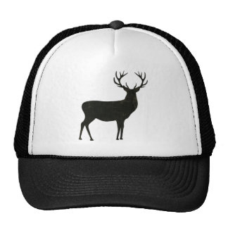 Black Buck Lid Mesh Hats