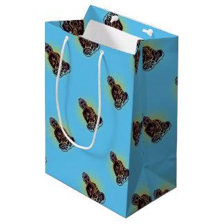 Black Buddha Power Medium Gift Bag