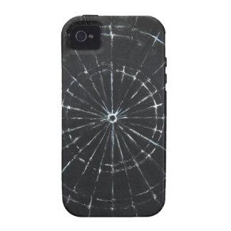 Black Bull s Eye black minimalism Vibe iPhone 4 Cases