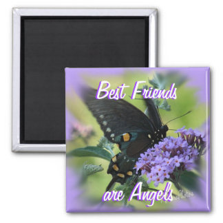 Black Butterfly-customize Magnet