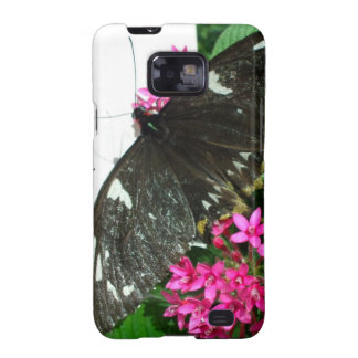 Black butterfly Samsung Galaxy S Case-Mate Bare Samsung Galaxy S2 Covers