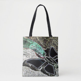 Black Butterfly Tote