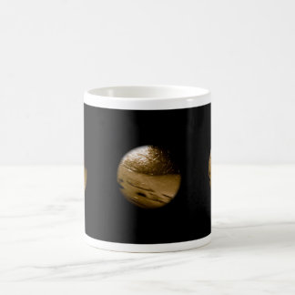 Black Button Universe - touch it if you dare Mug