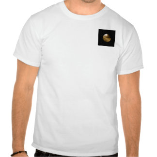 Black Button Universe - touch it if you dare Tee
