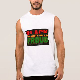 Black by Nature Sleeveless T-shirt
