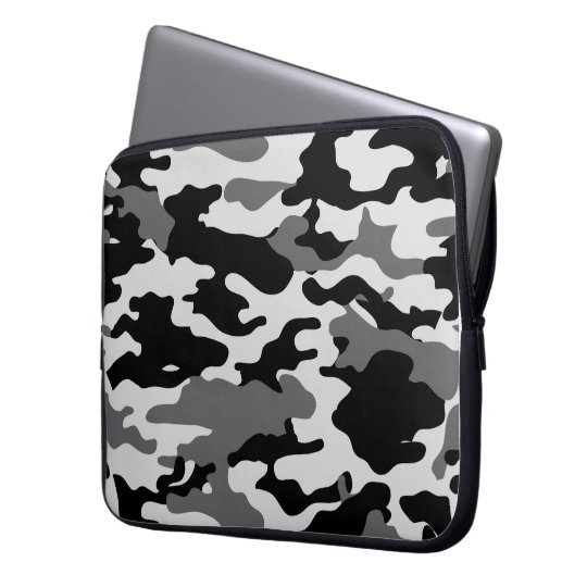BLACK CAMO - Electronics Bag