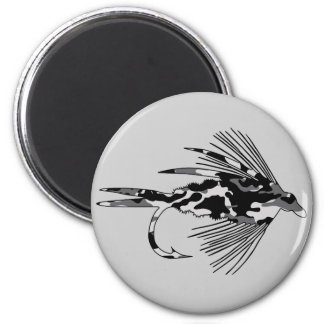 Black Camo Fly Fishing lure Magnet