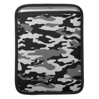 BLACK CAMO iPad SLEEVE