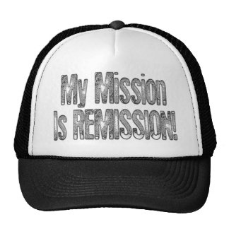 Black Cancer Remission Cure Baseball Cap Hat