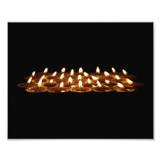 Black Candles Photographic Print