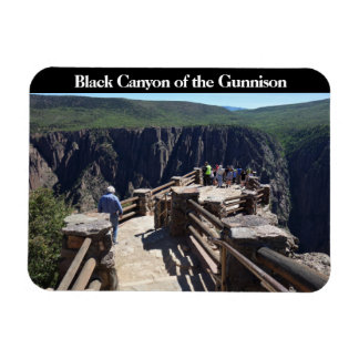 Black Canyon of the Gunnison Nationa Park Colorado Rectangular Photo Magnet