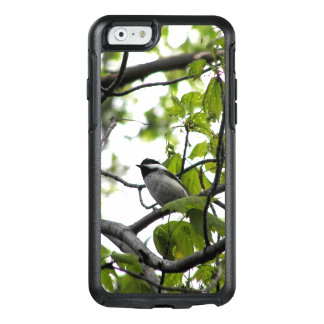 Black Capped Chickadee OtterBox iPhone 6/6s Case