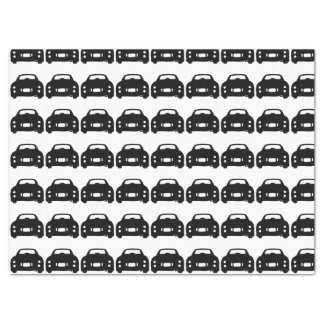 Black Car Silhouette Tissue Paper