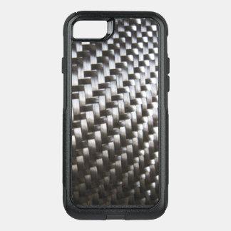 black carbon fiber phone case cover
