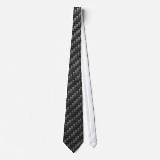 Black Carbon Fiber Tie