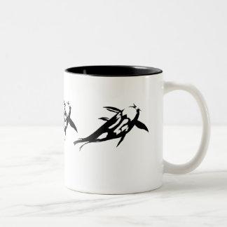 Black Carp Ink Sketch Mug