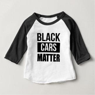 Black Cars Matter - Funny Garage Car Comedy Humor Baby T-Shirt