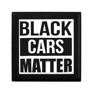 Black Cars Matter - Funny Garage Car Comedy Humor Gift Box