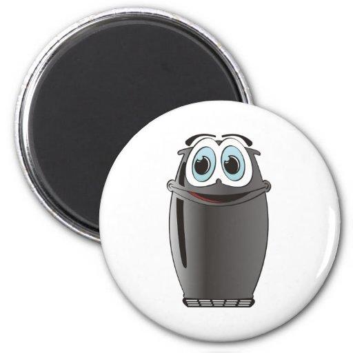 Black Cartoon Refrigerator Refrigerator Magnets