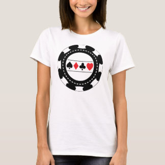 Black Casino Chip T-Shirt