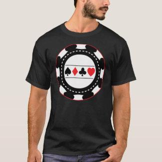Black Casino Chip T-Shirt