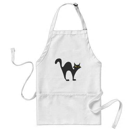 Black Cat (2) Apron