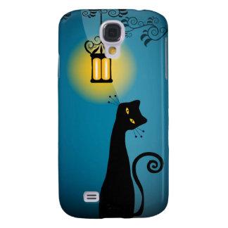 Black Cat 3  Samsung Galaxy S4 Cases