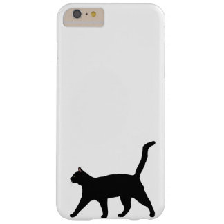 Black Cat 6/6s Plus Barely There iPhone 6 Plus Case