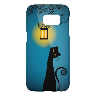 Black Cat and Lantern