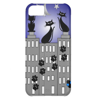 Black Cat Art for Cat Lovers iPhone 5C Case