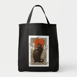 Black Cat - Art Nouveau - Theophile Steinland Tote Bag