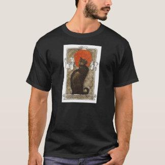 Black Cat - Art Nouveau - Theophile Steinlen T-Shirt