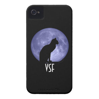 Black Cat Blue Moon Blackberry Bold Case