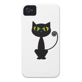 Black Cat iPhone 4 Cases