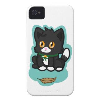 Black Cat iPhone 4 Case-Mate Case