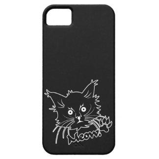 Black Cat custom iPhone case Case For The iPhone 5