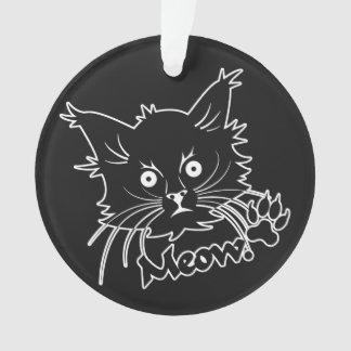 Black Cat custom ornament