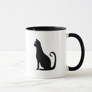 Black Cat Design Mug