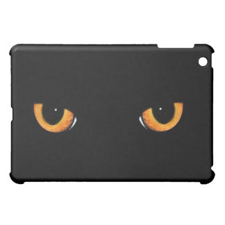 Black Cat Eyes Black Cat Black  iPad Mini Cases