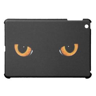 Black Cat Eyes Black Cat Black  iPad Mini Cover
