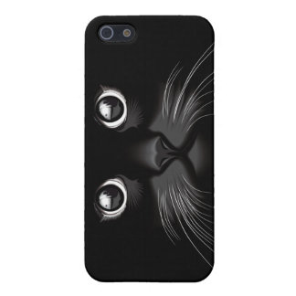 Black Cat Eyes iPhone 5 Case