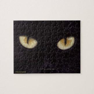 Black Cat Eyes Puzzle