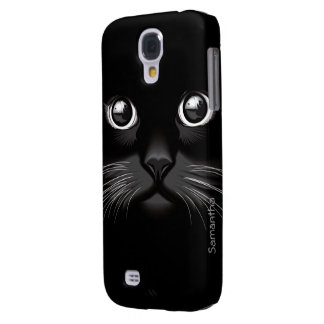 Black Cat Eyes Samsung Galaxy S4 Cover